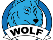 Logo wolf education